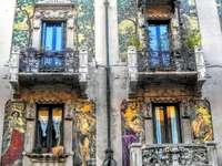 Милан Изкусно боядисани фасади - Милан Изкусно боядисани фасади