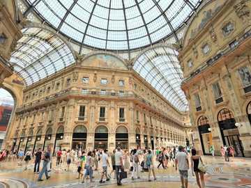 Mailand Moderne Einkaufsgalerie - Mailand Moderne Einkaufsgalerie