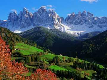 South Tyrolean Dolomites landscape - South Tyrolean Dolomites landscape