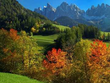 Geislerspitzen Dolomites South Tyrol - Geislerspitzen Dolomites South Tyrol