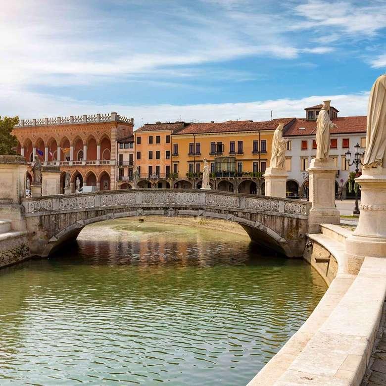 Ponte di Padova sul fiume puzzle