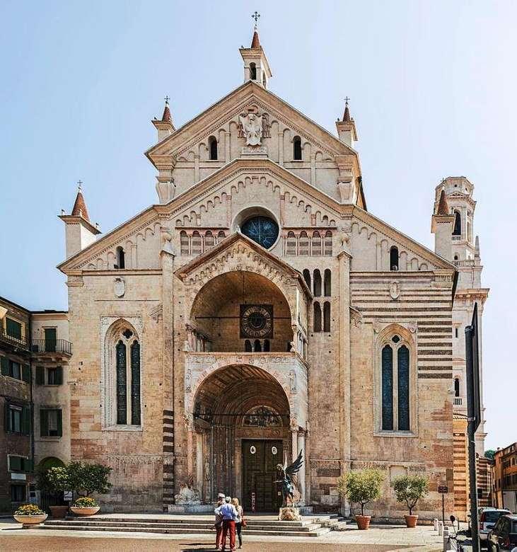 Catedral de Verona Região de Veneto quebra-cabeça online