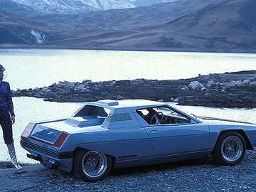 Ferrari GT4 - This Is A Concept Sports Car From The 1970s
