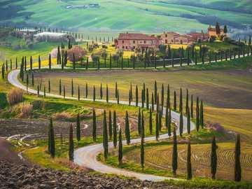 Beautiful Tuscany landscape - Beautiful Tuscany landscape