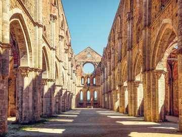 San Galgano Monastery Tuscany - San Galgano Monastery Tuscany