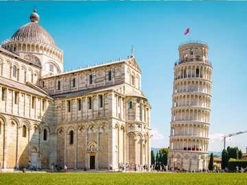 Pisa Cathedral and the Leaning Tower Tuscany - Pisa Cathedral and the Leaning Tower Tuscany