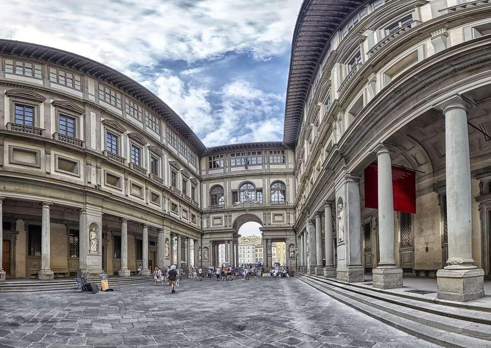 Florence Uffizi Gallery Toskania puzzle