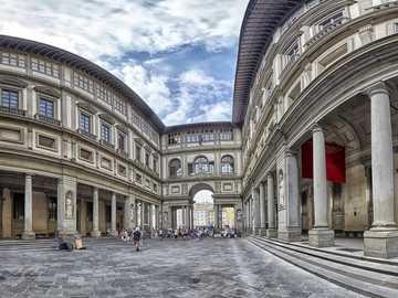 Florence Uffizi Gallery Tuscany - Florence Uffizi Gallery Tuscany