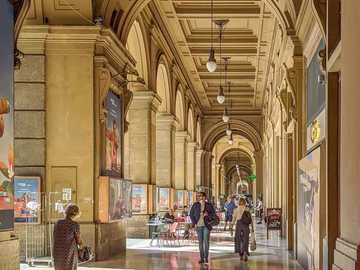 Florence arcades Tuscany - Florence arcades Tuscany
