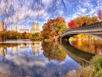 Autumn In The Park - Autumn In The Park. New York.