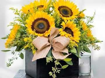 Sunflowers . - Lovely sunflowers.
