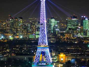 the tower of paris - , initially called tour de 300 mètres (300 meter tower), is a puddle iron structure designed by the