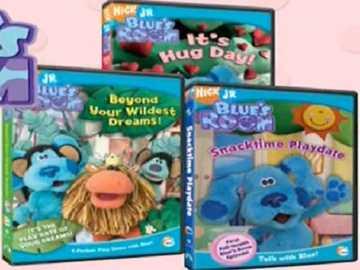 b is for blue's room dvd - lmnopqrstuvwxyzlmnop