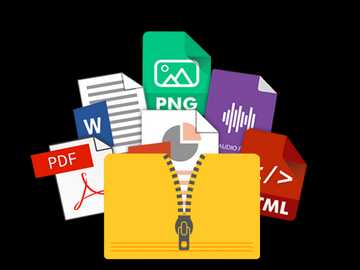 FILES AND FOLDERS - Organize the puzzle and discover the image