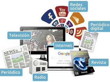 La publicité - Médias de masse, utilisés pour la publicité