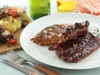 Барбекю - Вкусно барбекю от свинско месо