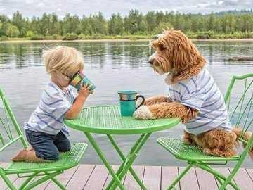 Junge und Hund - Junge und Hund .............................