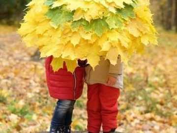 Herbstschirm für Kinder - Herbstschirm für Kinder ...............................