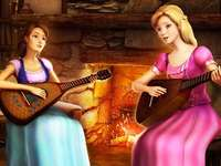 Barbie et l'Académie des princesses - L'histoire de la serveuse de 17 ans, Blair Willows, change lorsque la fille entre à la Princes