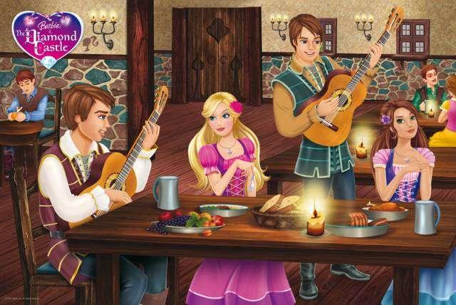 Barbie i Akademia Księżniczek puzzle