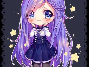 Chibi girl - Hi. How are you. I did something