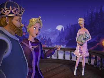 Barbie en de magie van Pegasus - Beschrijving van de plot Het begint allemaal als Annika jarig is. Als de moeder van de prinses haar