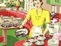 Podawanie kawy - Puzzle. Podawanie kawy
