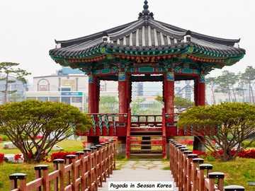 Una pagoda in Corea del Sud - Una bella pagoda in Corea del Sud