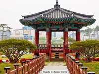 Pagoda w Korei Południowej - Ładna pagoda w Korei Południowej