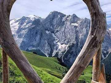 Blick auf den Berg - Blick auf den Berg ........................