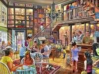 Księgarnia - Puzzle. Kawiarnia i księgarnia