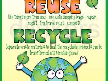 RECYCLE 3 - CLASS PROJECT FOR KIDS IJEM