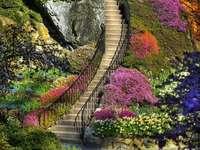 Himmelsk trappa till himlen