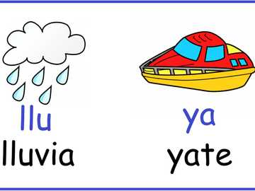"""Words with """"ll"""" and """"y"""". - Complete the puzzle to know some words with """"ll"""" and """"y""""."""
