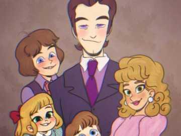 Aftonova rodina - Krásná rodina, ne? ...