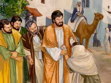 Miracles of Jesus - Miracle of Jesus heals a leper
