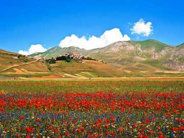 Castellucio Norcia in Umbrien Italien - Castellucio Norcia in Umbrien Italien