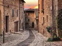 Spello στην Ούμπρια της Ιταλίας