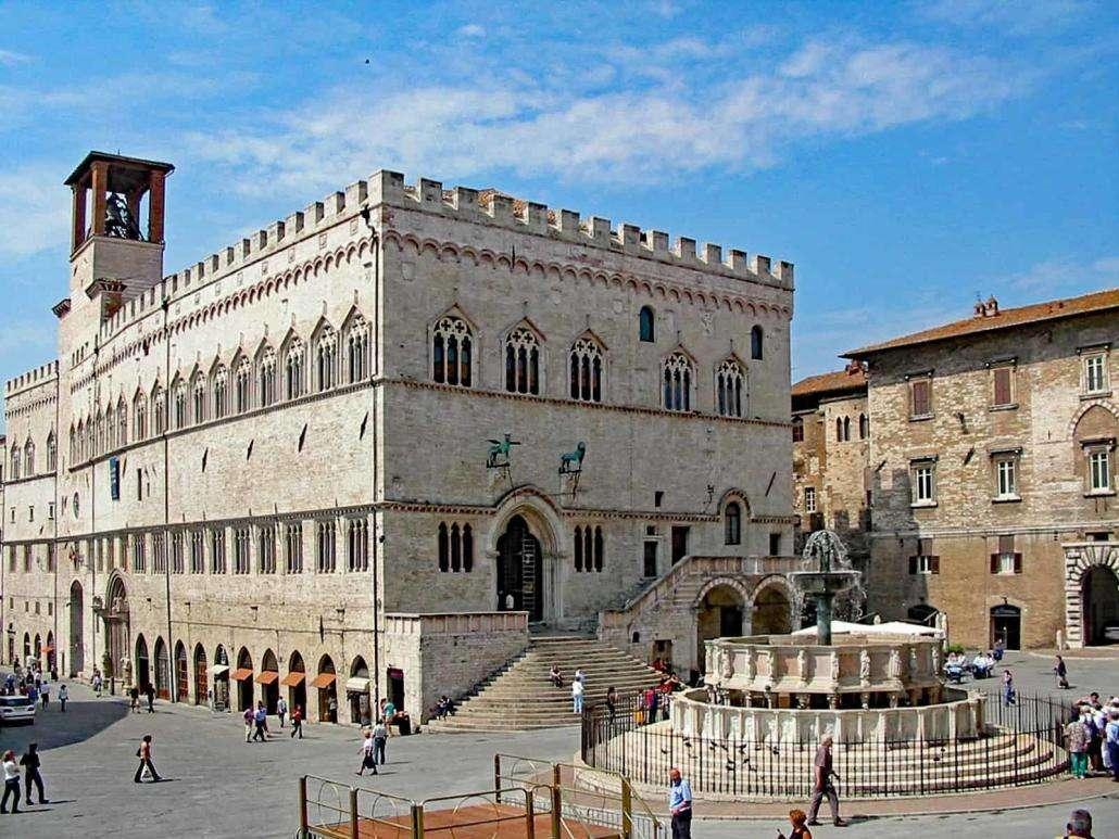 Περούτζια κέντρο της πόλης Ουμβρία Ιταλία (11×9)