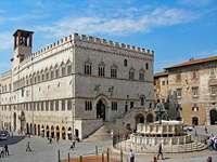 Περούτζια κέντρο της πόλης Ουμβρία Ιταλία