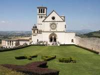 Catedrala Assisi Umbria Italia