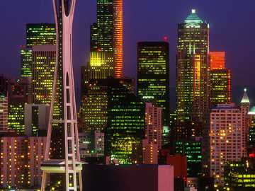 Seattle Washington - Seattle is a seaport city on the West Coast of the United States. It is the seat of King County, Was