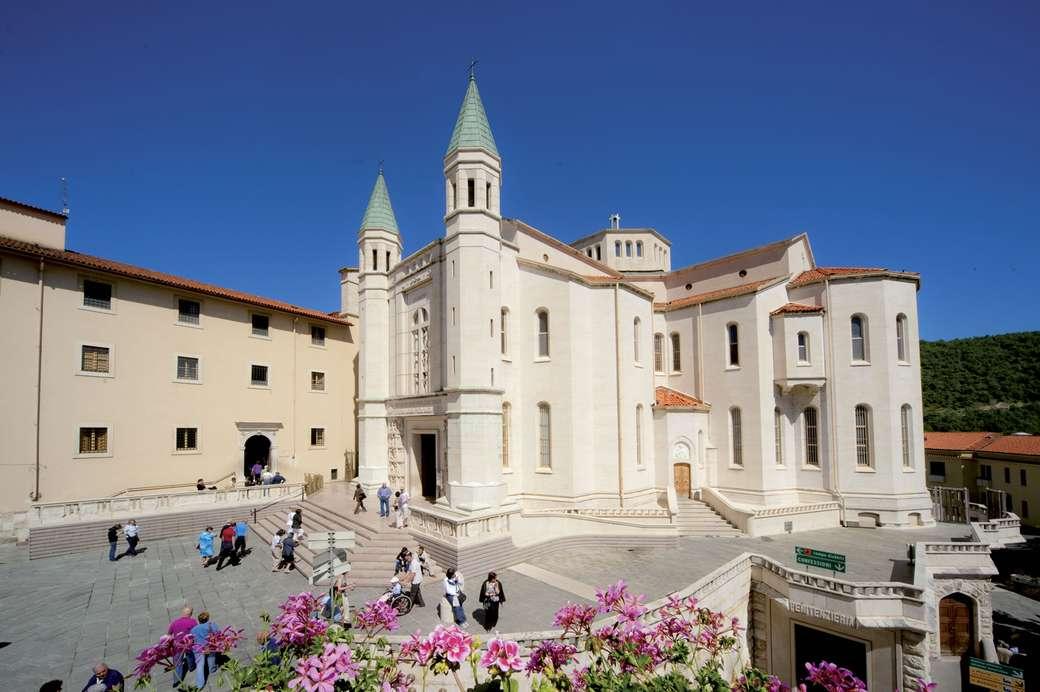 Cascia Basilica Umbrië puzzel
