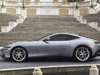 Auto - Automobile a Roma, Italia.