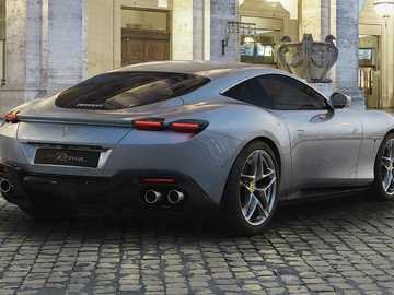 Auto sportiva - Auto sportiva Ferrari.
