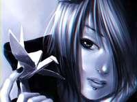 Konan Yutaka - lindo anjo com asas de papel