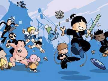 Escuela Shuriken - Serie animada 2006-2007