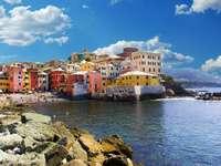 Genua Bucht Ligurien Italien - Genua Bucht Ligurien Italien