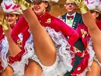festival in Germany - dancers at a festival in Germany