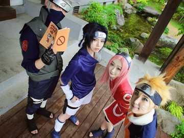 Naruto en la vida real - Naruto, team7, vida real